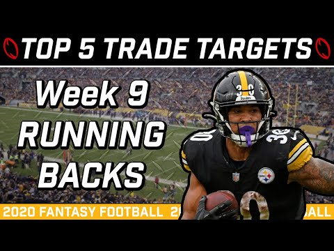Week 9 Running Back Trade Targets || Trade Strategy || 2020 Fantasy Football Advice