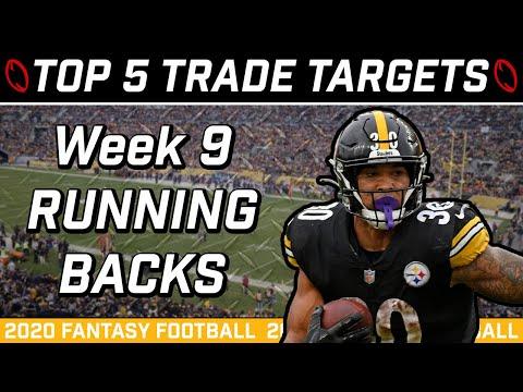 Week 9 Running Back Trade Targets || Trade Strategy || 2020 Fantasy Football Advice