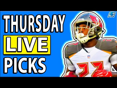 DRAFTKINGS NFL PICKS WEEK 5 THURSDAY NIGHT SHOWDOWN DFS LIVE PICKS