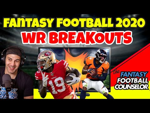 Fantasy Football Breakouts 2020 – Wide Receivers