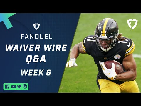 Fantasy Football: LIVE Waiver Wire Q&A for Week 6 Pickups!