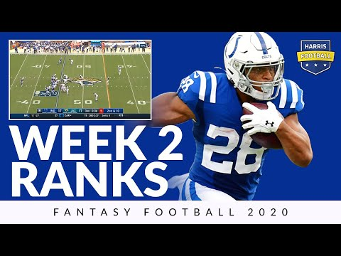 Week 2 Ranks Fantasy Football 2020