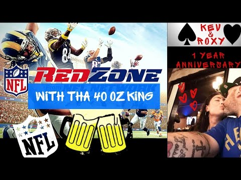 NFL RED-ZONE 4 o'Clock Games – LIVE REACTION Happy Anniversary Roxy