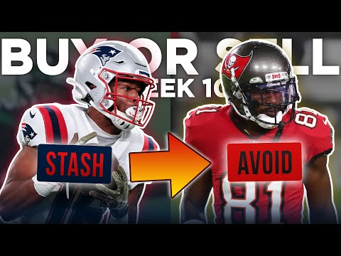 Week 10 Buy or Sell: Trades You Should Target Right Now (2020 Fantasy Football)