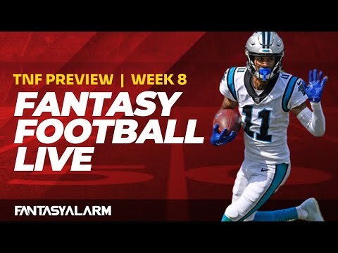 Fantasy Football Live: Week 8 Thursday Night