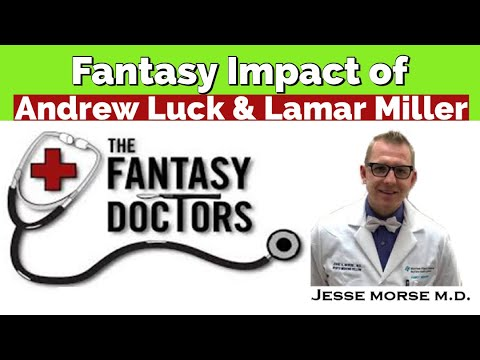 Fantasy Impact of Andrew Luck & Lamar Miller
