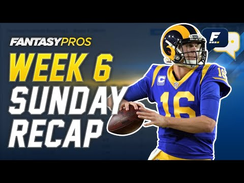 Week 6 Rapid Reaction + Takeaways LIVE with Dan Harris and Mike Tagliere (2020 Fantasy Football)