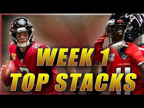 DRAFTKINGS NFL WEEK 1 TOP STACKS: 2020 FANTASY FOOTBALL DFS