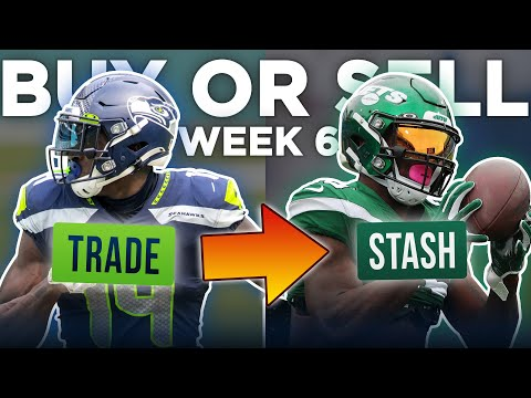 Week 6 Buy or Sell: Rankings Risers + Trades You Should Target Right Now (2020 Fantasy Football)