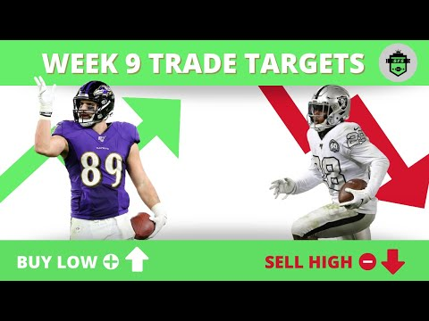 Fantasy Football Week 9 – Waiver Wire and Trade Targets