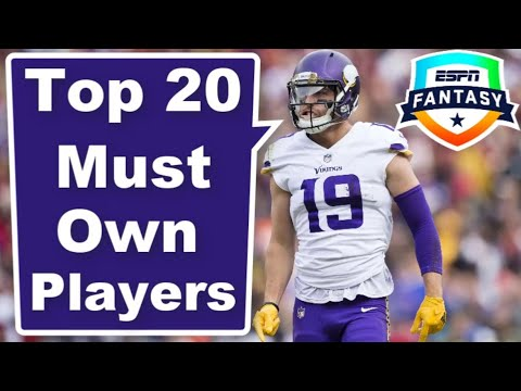 Top Must Own Players | 2020 Fantasy Football