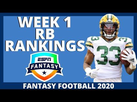 2020 Fantasy Football Rankings – Top 32 Running Back Rankings – Week 1