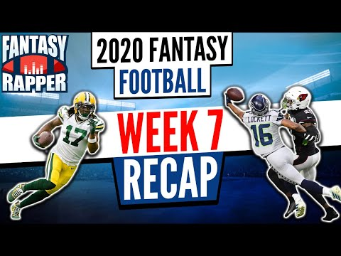 2020 Fantasy Football Week 7 Recap & Monday Night Preview