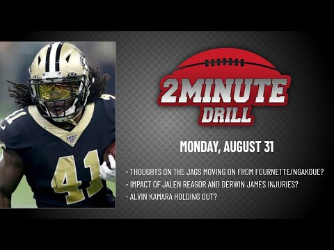 ALVIN KAMARA HOLDING OUT? 2 Minute Drill: Monday, August 31   PFF