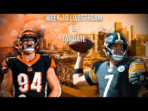 Cincinnati Bengals vs Pittsburgh Steelers Live Stream and Live Tailgate! (NFL Week 10)