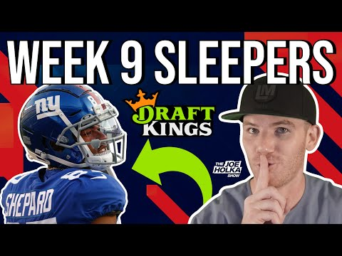 Top VALUE PLAYS Week 9 🏈 w/ Matt Harmon Top Wide Receiver Sleepers | NFL Week 9 SLEEPER Picks