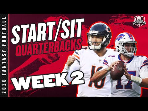 2020 Fantasy Football – Week 2 Quarterbacks – Start or Sit? Every Match Up