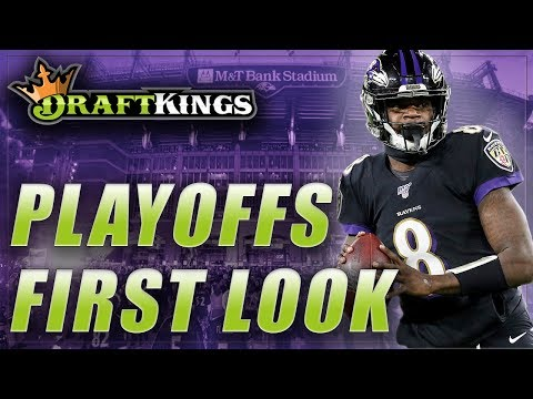 DRAFTKINGS NFL DFS PLAYOFFS DIVISIONAL ROUND FIRST LOOK LINEUP