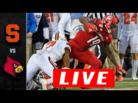 Louisville vs Syracuse LIVE HD | College Football LIVE | Week 12 | NCAAF 11/20/2020