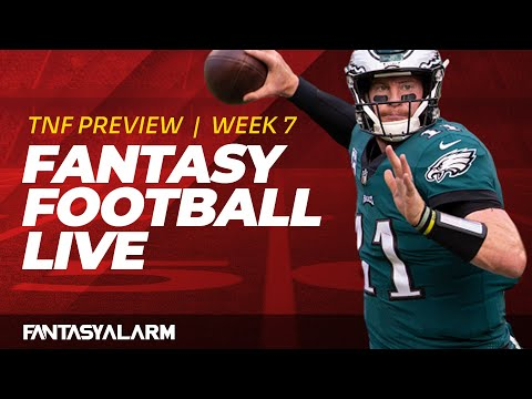 Fantasy Football Live Week 7 Thursday Night Football Preview