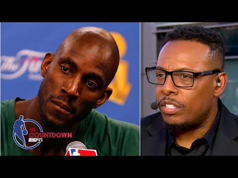 Paul Pierce describes talking to Kevin Garnett the day Kobe Bryant died | NBA Countdown