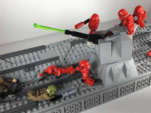 Lego Star Wars Moc – Resistance Attack on Final Order Star Destroyer