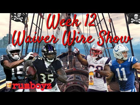 Fantasy Football Waiver Wire Show week 12