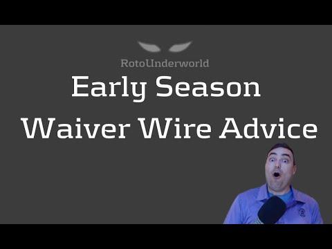 Fantasy Football Early Season Waiver Wire Strategy