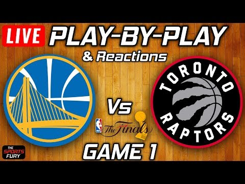 Warriors vs Raptors Game 1 | Live Play-By-Play & Reactions