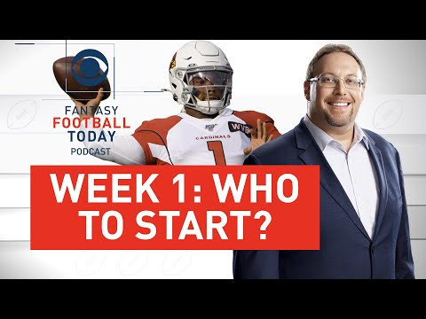 Week 1 WHO TO START? Best Sleepers + Streamers | 2020 Fantasy Football