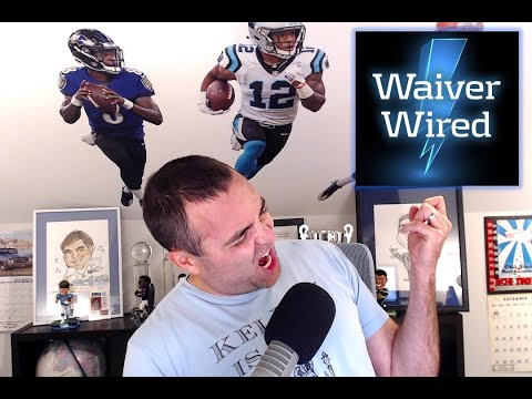 Fantasy Football Week 3 Waiver Wire Advice LIVE from the Podfather: Tre'Quan Smith all systems go