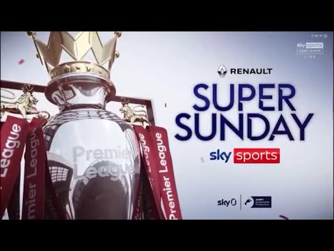Official Sky Sports Super Sunday Premier League 20/21 Intro