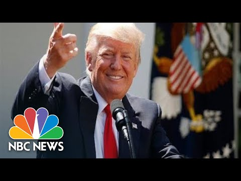 Watch Live: President Donald Trump Makes Statement In White House Rose Garden | NBC News