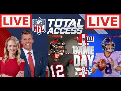 NFL Total Access 11/2/2020 LIVE | Buccaneers vs Giants on Monday Night Football