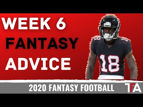 Fantasy Football Advice | Week 6 Start/Sit, Trades, Waivers