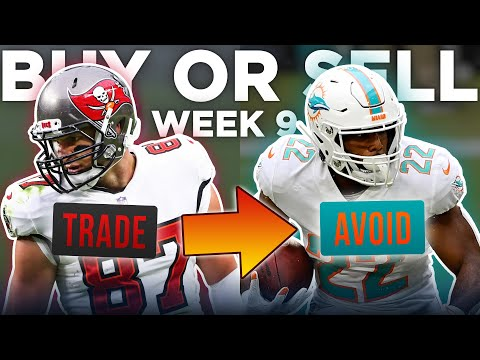 Week 9 Buy or Sell: Trades You Should Target Right Now + NFL Trade Deadline (2020 Fantasy Football)