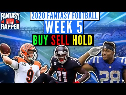 2020 Fantasy Football Week 5 Trade Targets
