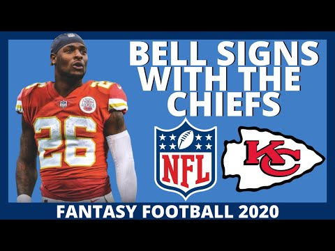 NFL BREAKING NEWS – Le'Veon Bell Signs With The Kansas City Chiefs – 2020 Fantasy Football