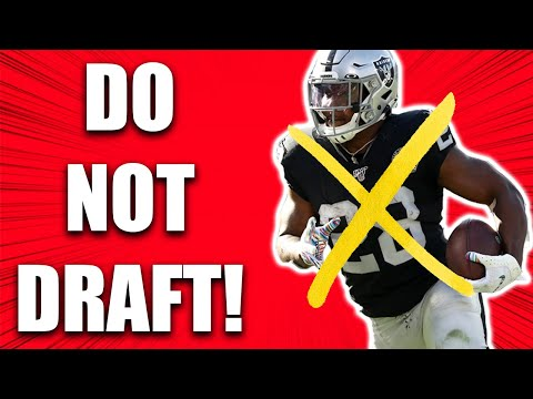 Why you Shouldn't draft JOSH JACOBS in Fantasy Football 2020 – #12