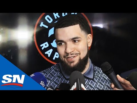 Fred VanVleet Talks Drake's Jersey Choice & Toronto Fans Going Crazy After Raptors Win