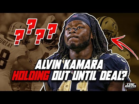 ALVIN KAMARA HOLDING OUT?