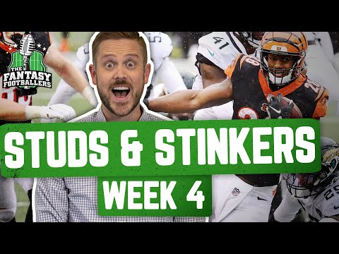Fantasy Football 2020 – Week 4 Studs & Stinkers + Picture-in-Picture – Ep. #955
