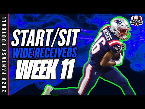 2020 Fantasy Football – Week 11 Wide Receivers – Start or Sit? Every Match Up