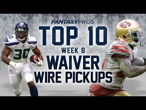Top 10 Week 8 Waiver Wire Pickups (2020 Fantasy Football)