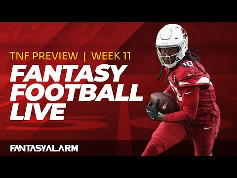 Fantasy Football Live: Thursday Night Football Preview