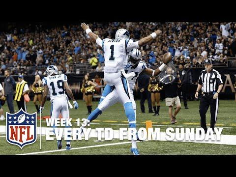 Watch Every Touchdown from Sunday (Week 12) | NFL RedZone
