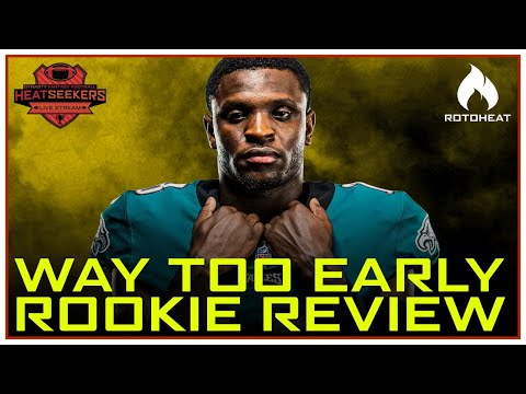 Way Too Early Rookie Review for Dynasty Fantasy Football 🏈