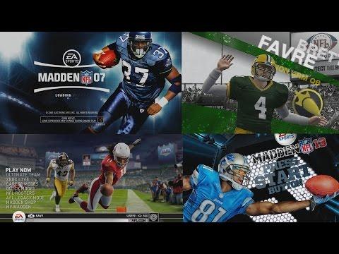 Madden NFL Pregame Presentation Through the Years – Madden 97 – Madden 17
