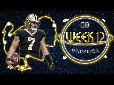 2020 Fantasy Football – Week 12 Quarterback Rankings