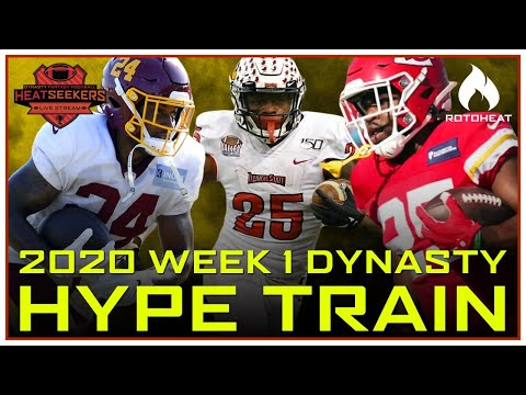 Dynasty Hype Train – Antonio Gibson, James Robinson 2020 Fantasy Football 🏈